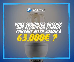 Vous souhaitez obtenir une réduction d'impôt pouvant aller jusqu'à 63.000€ ?